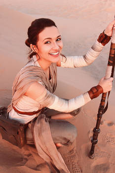 Rey Cosplay - Star Wars