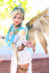 Mercy Cosplay - Winged Victory