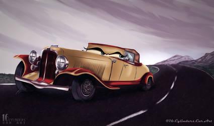 1932 CUSTOM AUBURN (Jay Leno) by V16ClassyCaddy