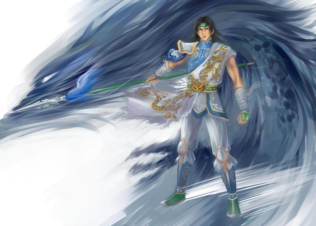 Dynasty Warriors Zhao Yun by Rina-Liu on DeviantArt