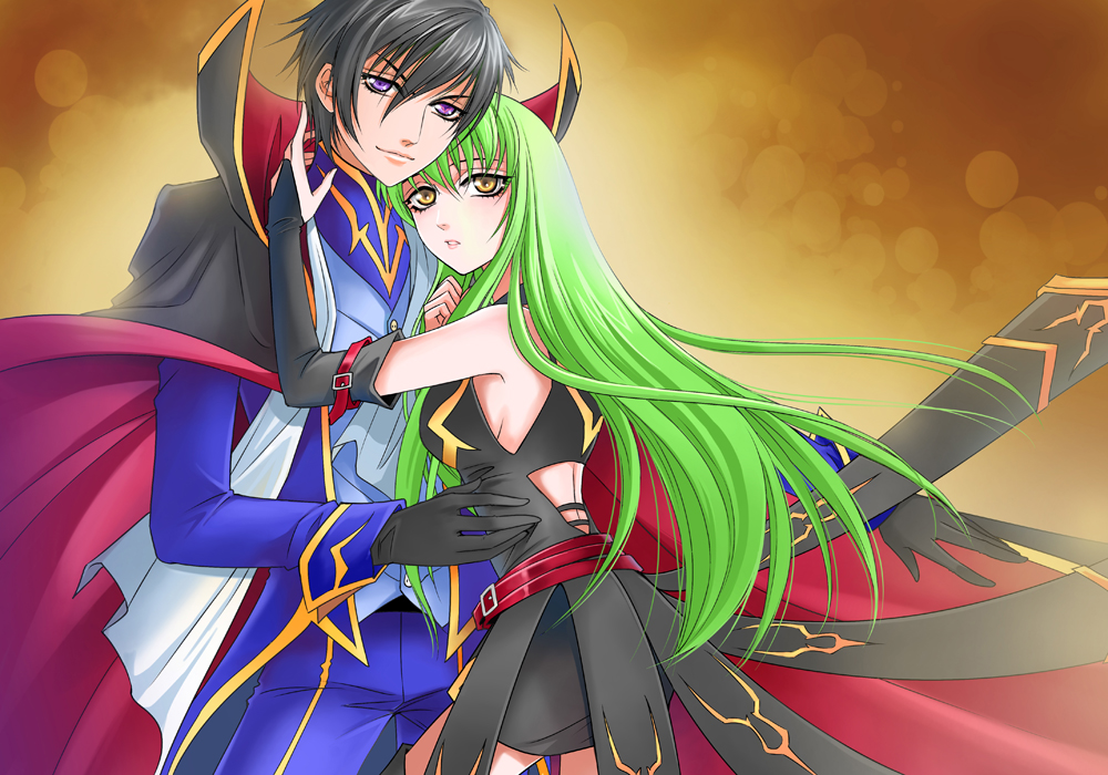 Lelouch and CC by Rina-Liu
