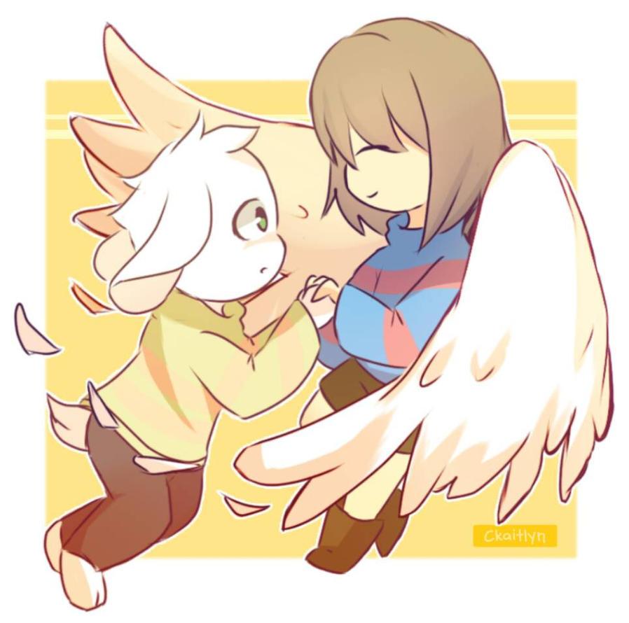 [ FanArt ] Like an angel by CKaitlyn