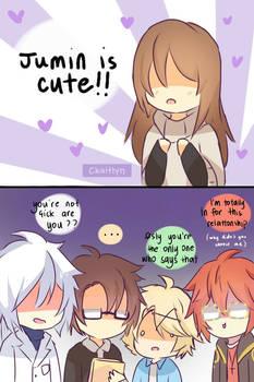 jumin is cute ! | FanArt