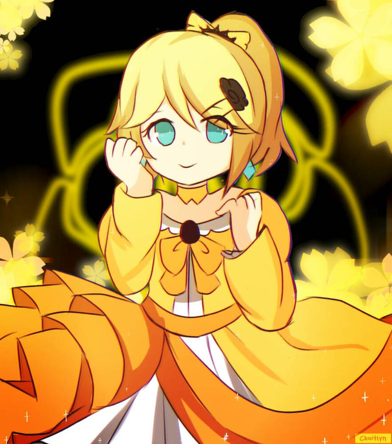 [ Rin Kagamine ] Daughter of Evil by CKaitlyn