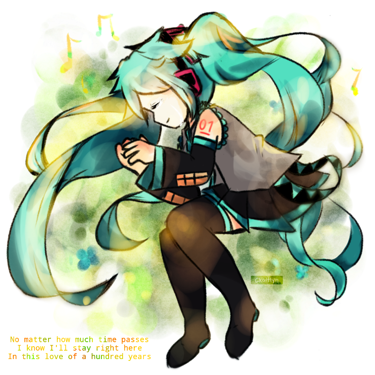 [ Hatsune Miku ] One Hundred Years of Love by CKaitlyn