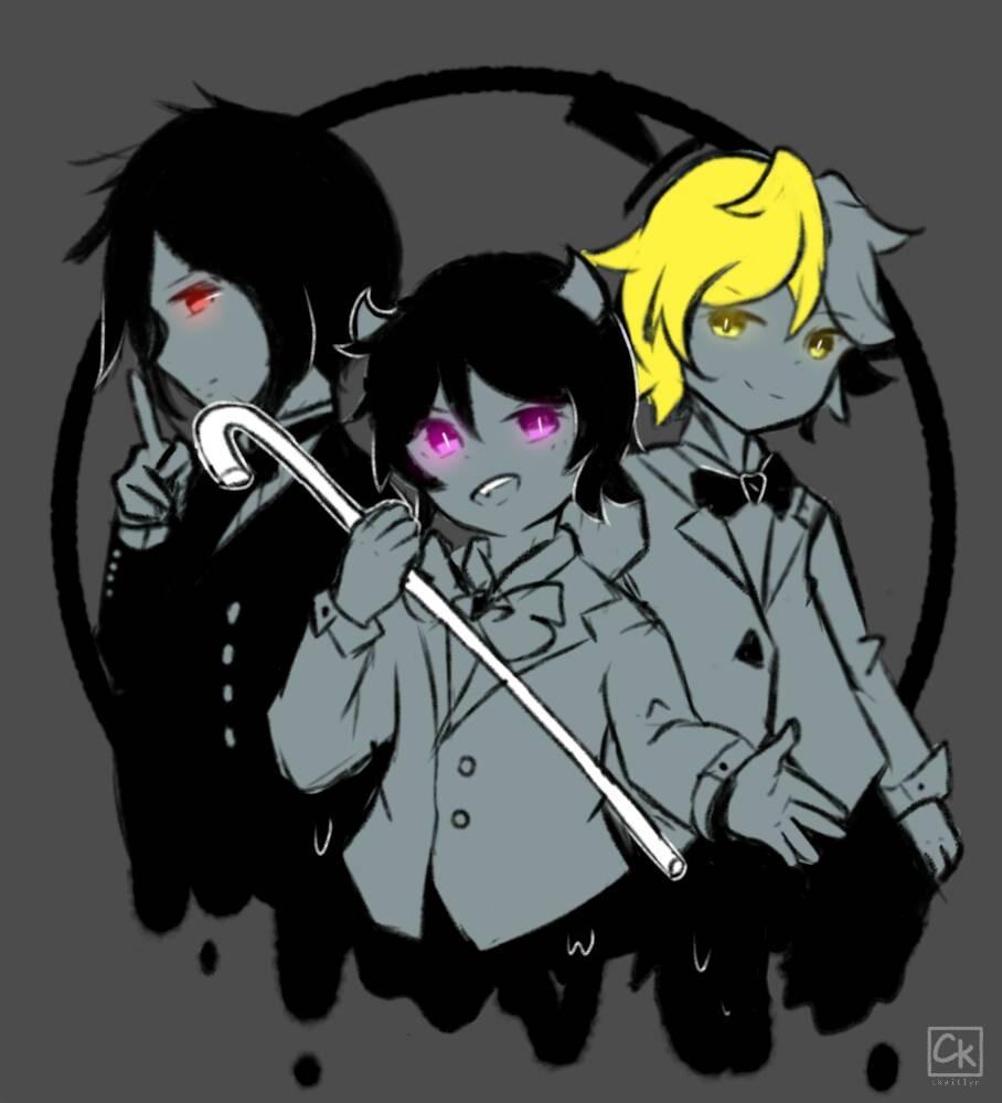 [ FanArt ] Demons by CKaitlyn