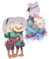 he kept the sweater | FanArt