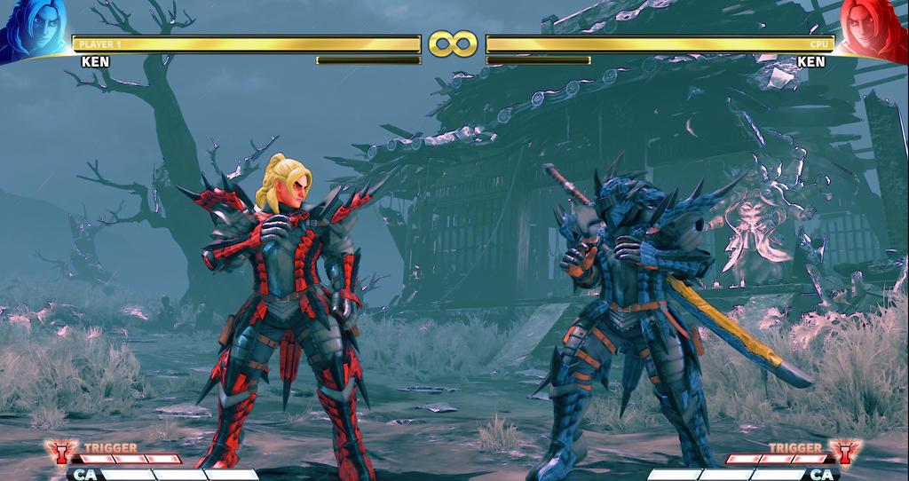 Monster Hunter Ken C4, C5 by xHECZx