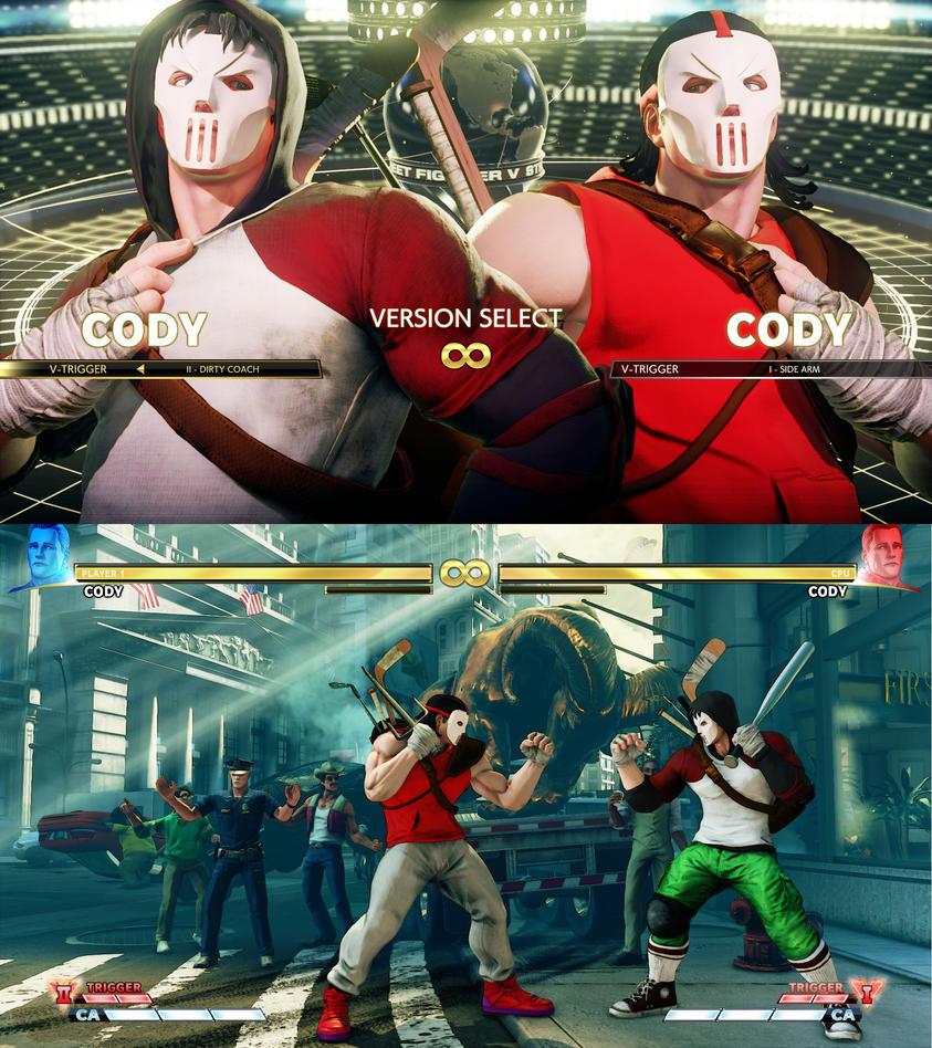 Cody x Casey Jones Wip by xHECZx