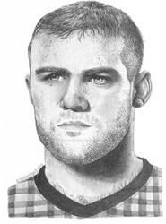 Wayne Rooney portrait (request)
