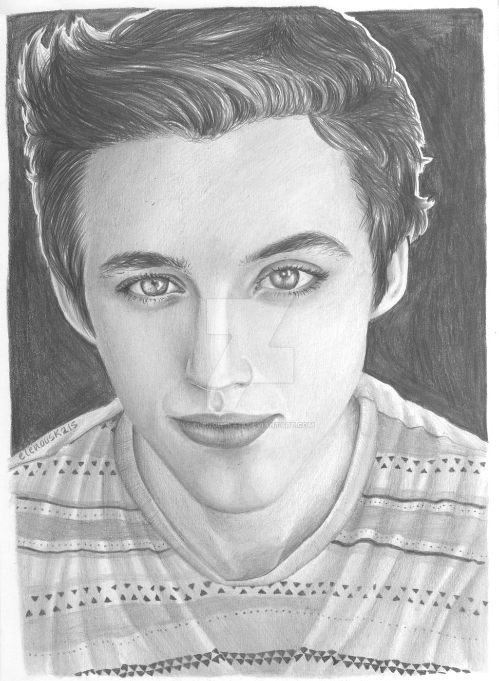 Troye Sivan Drawing by elenouska15 on DeviantArt