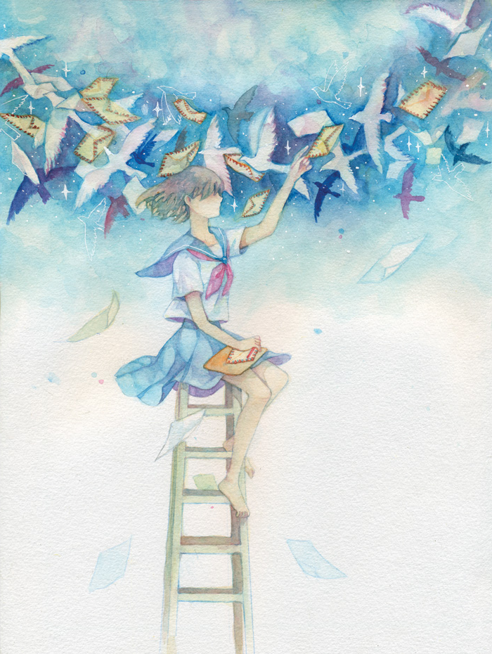 Tegami by Biranka
