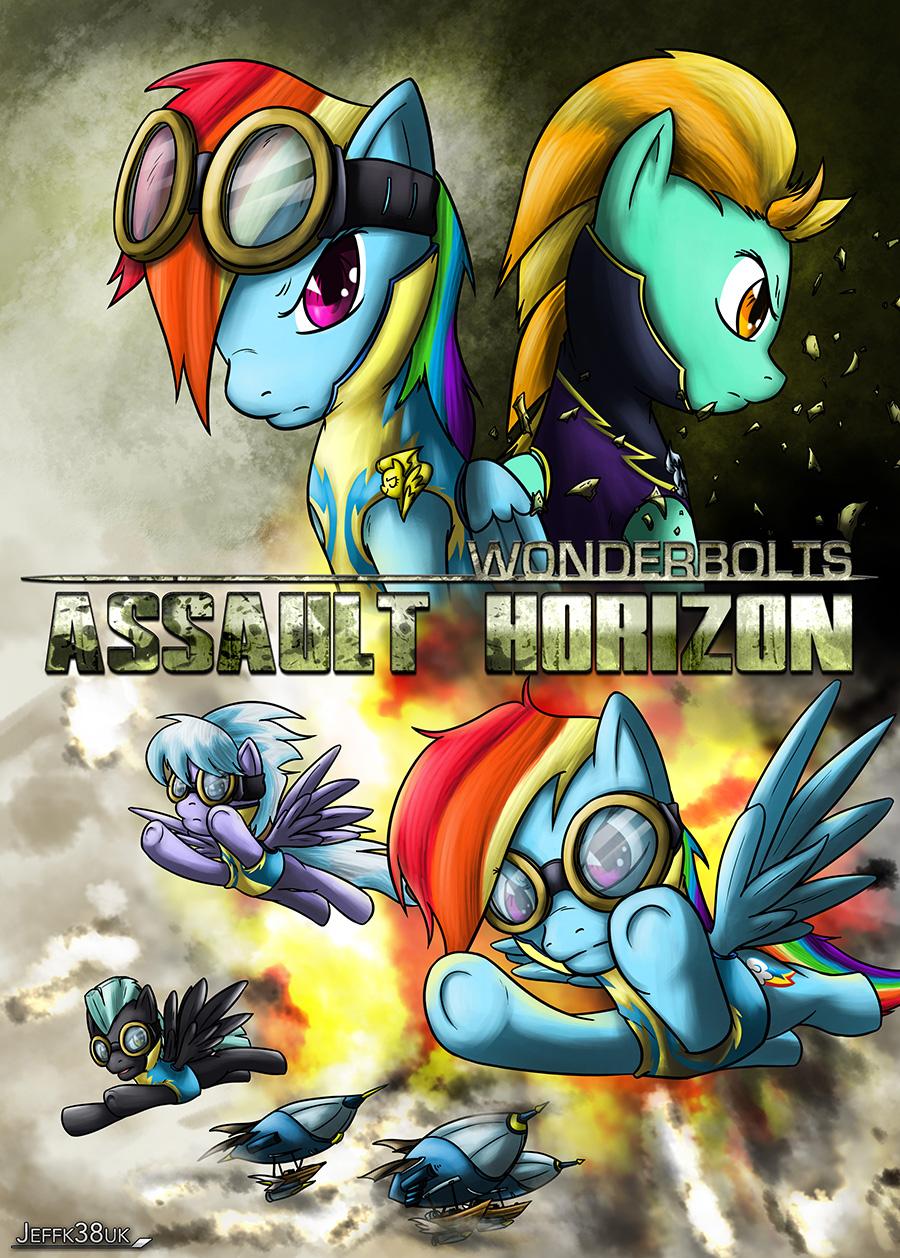 Wonderbolts: Assault Horizon by Jeffk38uk