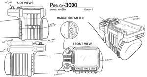 Overmare Studios: Pipbuck 3000 Concept