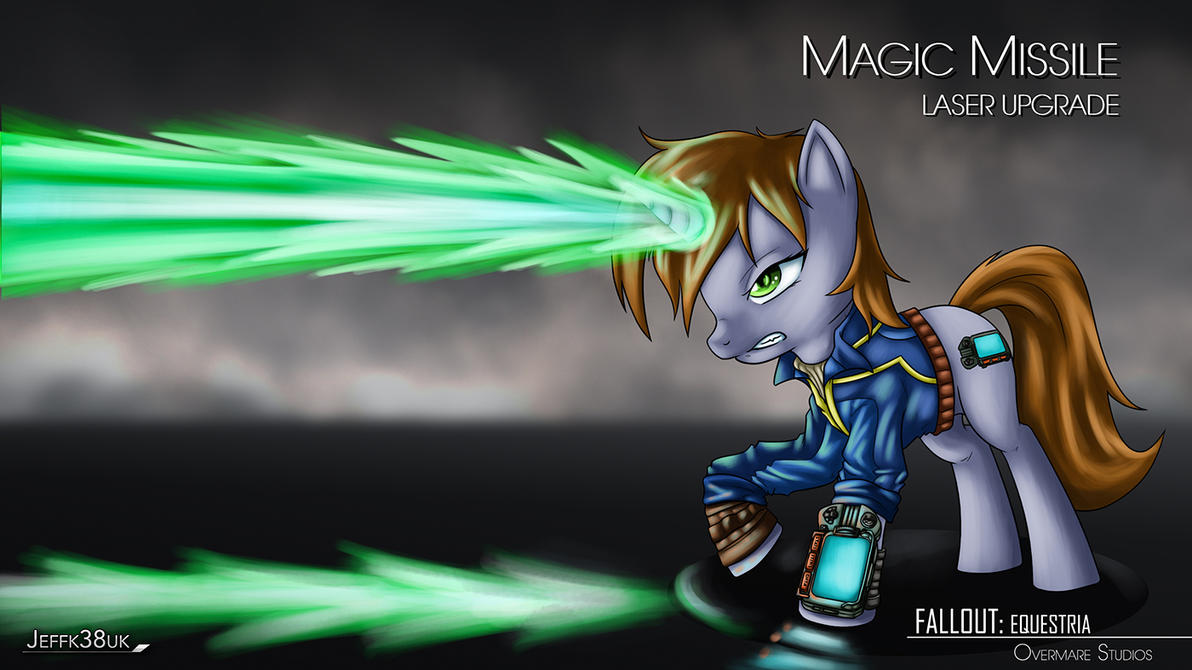 Fallout Equestria: Magic Missile Laser Upgrade by Jeffk38uk