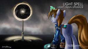 Fallout Equestria: Light Drain Upgrade Spell