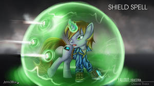 Fallout Equestria: Shield Spell by Jeffk38uk