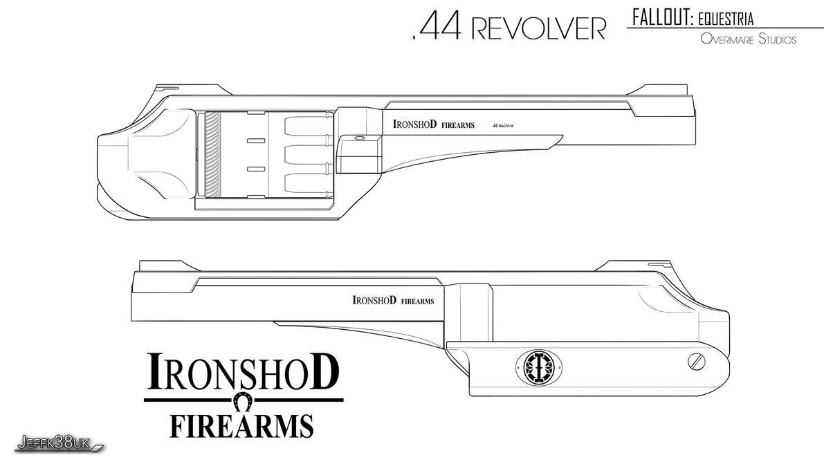 Overmare Studios: .44 Revolver Pg01 by Jeffk38uk
