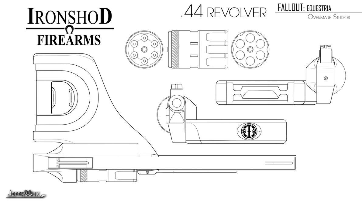 Overmare Studios: .44 Revolver Pg02 by Jeffk38uk