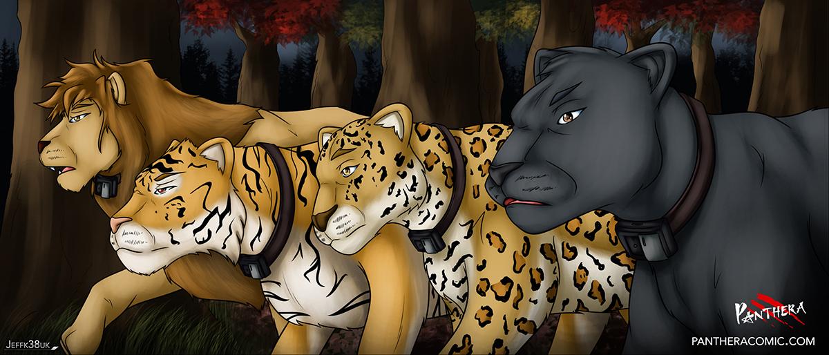 Panthera - The Raid by Jeffk38uk
