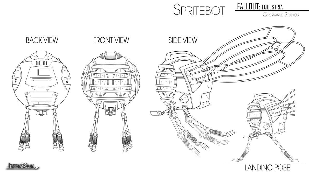 Overmare Studios: Spritebot FINAL Revised by Jeffk38uk