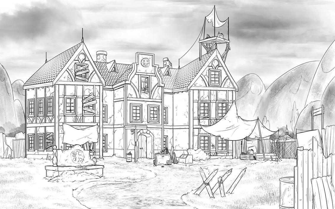 AoE: Ponyville General Hospital Concept by Jeffk38uk