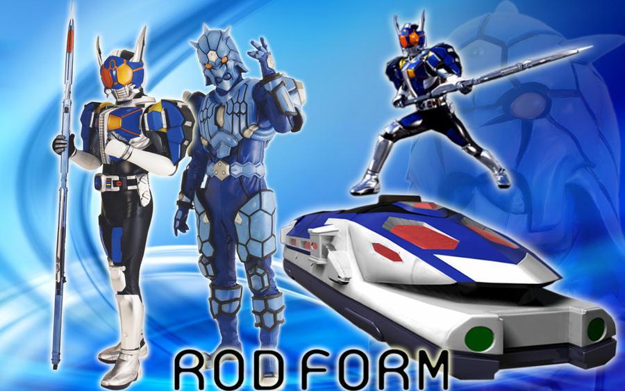 Kamen Rider Den-O Rod Form by blakehunter on DeviantArt