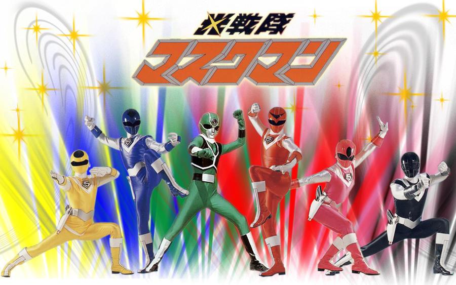 Hikari Sentai Maskman by blakehunter