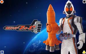 Kamen Rider Fourze by blakehunter