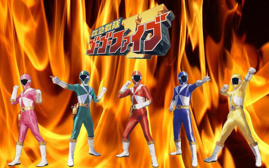 Kyuukyuu Sentai Gogo V by blakehunter