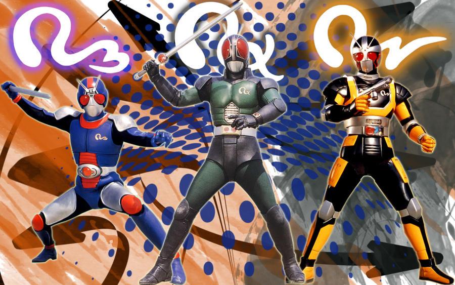 Kamen Rider Black RX by blakehunter