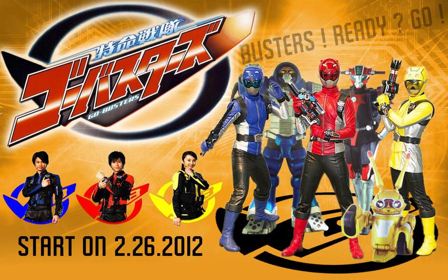 Tokumei Sentai Go-Busters by blakehunter