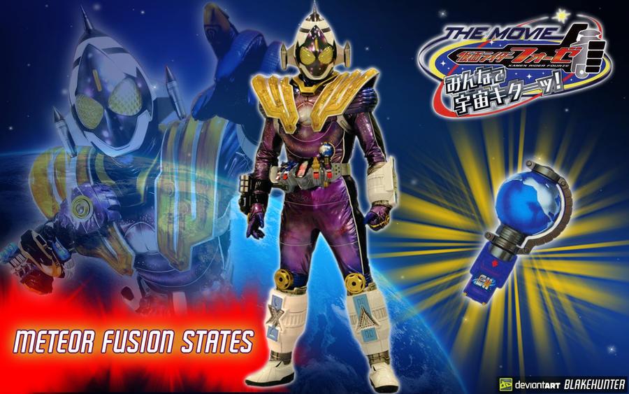 Kamen Rider Fourze Meteor Fusion States by blakehunter on ...