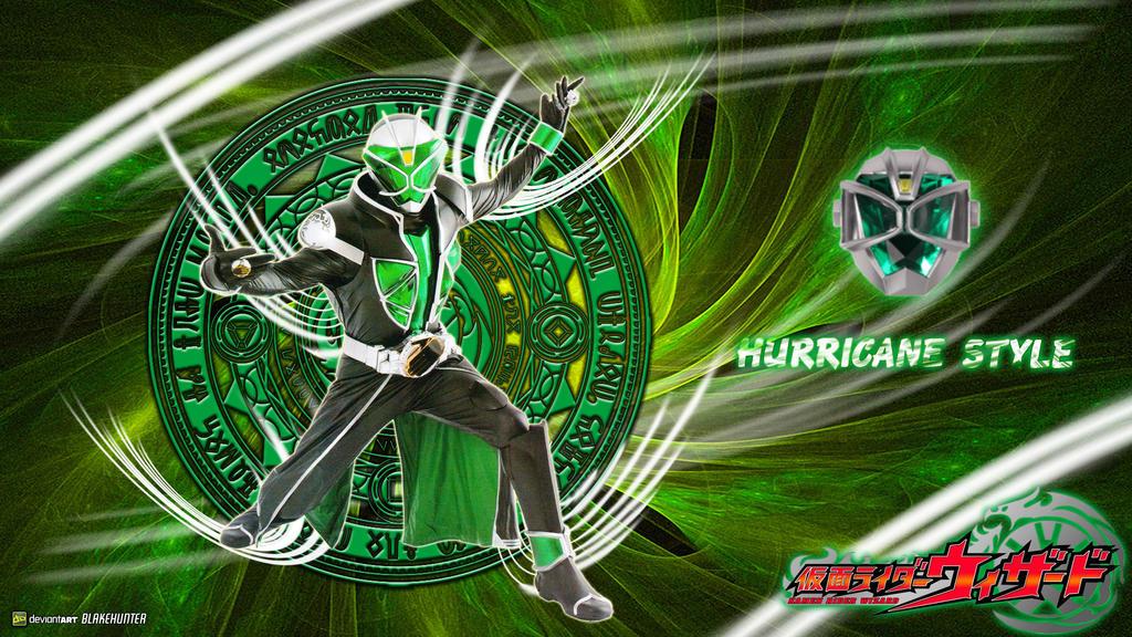 Kamen Rider Wizard Hurricane Style by blakehunter