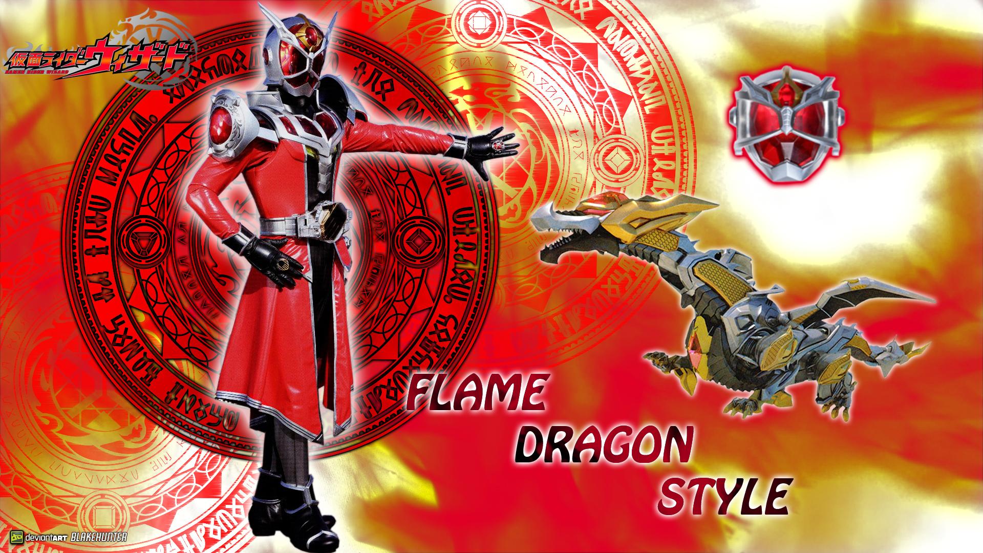 KR Wizard Flame Dragon Style by blakehunter