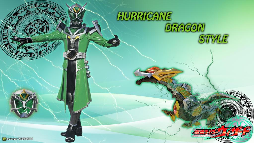 KR Wizard Hurricane Dragon Style by blakehunter