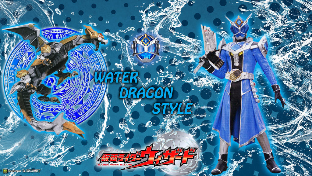 KR Wizard Water Dragon Style by blakehunter