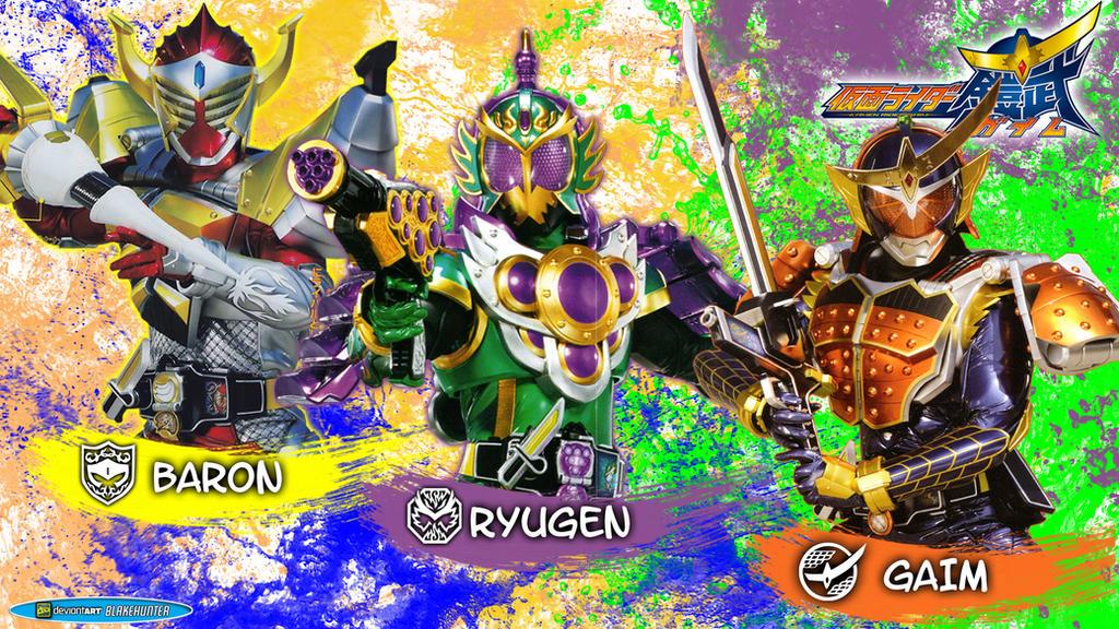 Kamen Rider Gaim Baron Ryugen by blakehunter on DeviantArt