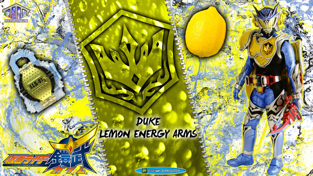 Kamen Rider Duke Lemon Energy Arms by blakehunter on ...