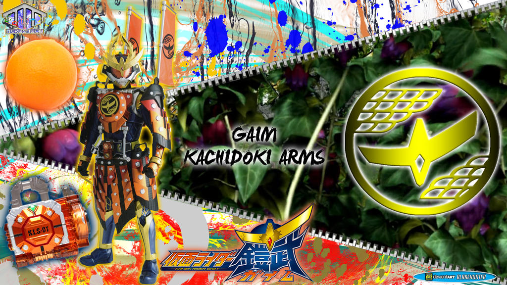 Kamen Rider Gaim Kachidoki Arms by blakehunter on DeviantArt