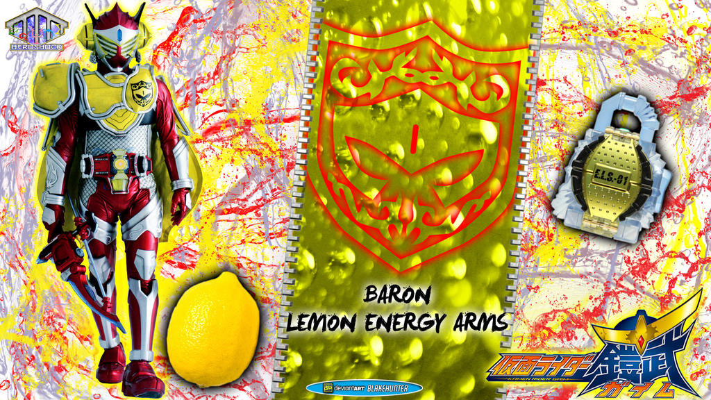 Kamen Rider Baron Lemon Energy Arms by blakehunter on ...