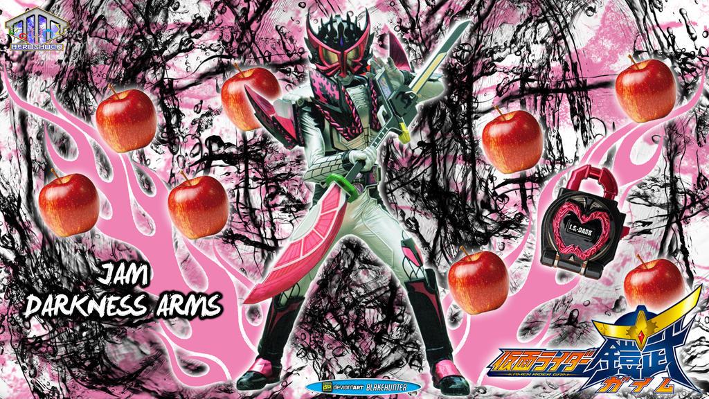 Kamen Rider Jam Darkness Arms by blakehunter