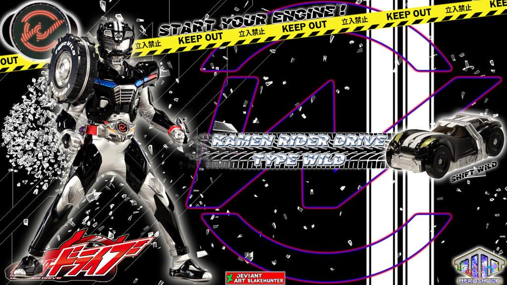 Kamen Rider Drive Type Wild by blakehunter