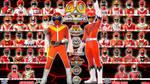 Super Sentai 40th Anniversary [Goranger-Zyuohger] by blakehunter