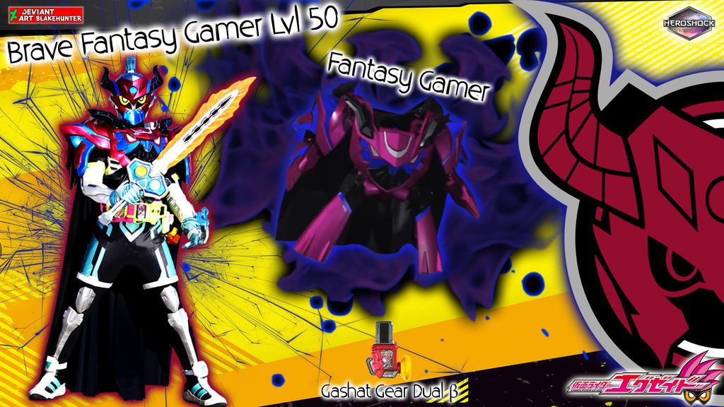 Kamen Rider Brave Fantasy Gamer Lvl 50 by blakehunter