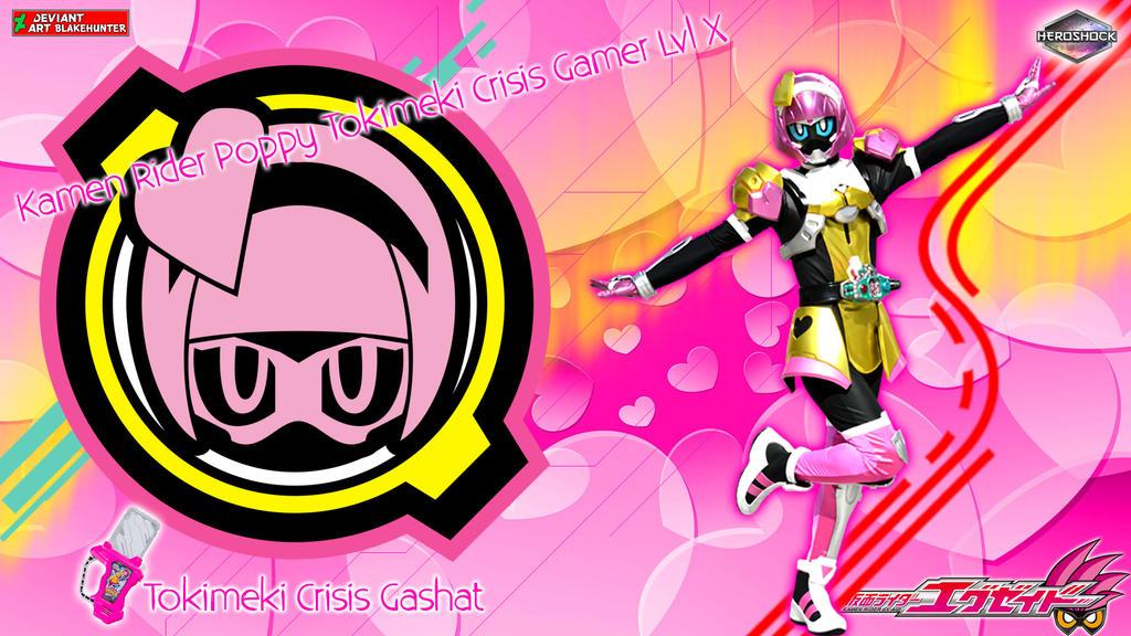Poppy Tokimeki Crisis Gamer Lvl X ~Blue eyes ver.~ by blakehunter