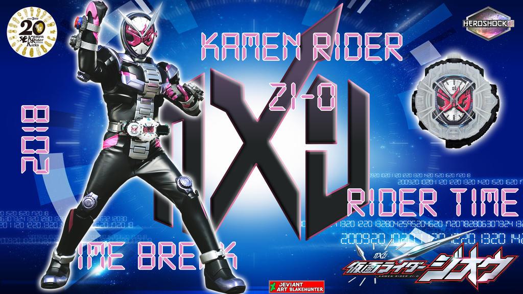 Kamen Rider Zi-O by blakehunter