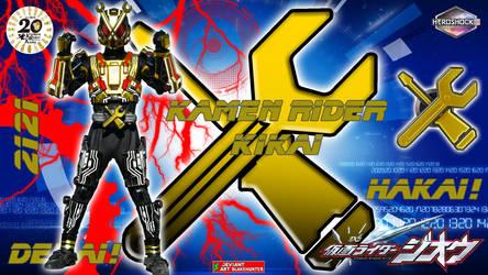 Kamen Rider Kikai by blakehunter