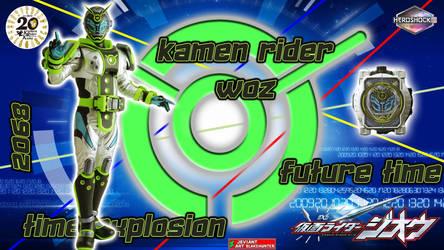 Kamen Rider Woz by blakehunter
