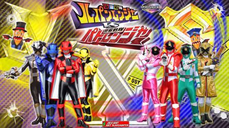 Lupinranger VS Patranger Ver 2. by blakehunter